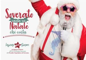 """""""Soverato canta un Natale che conta""""!: raccolta fonti per il Pronto Soccorso."""