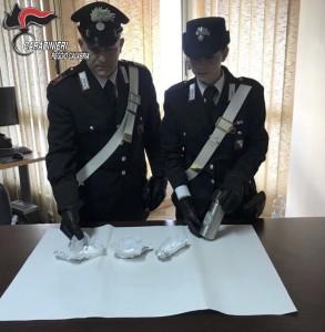 Reggio Calabria e provincia. I Carabinieri trovano della cocaina a Melia