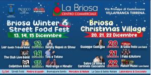 Villafranca Tirrena (Me). Mercoledì 11 conferenza di presentazione di Briosa Winter Food Fest e di Briosa Christmas Village.