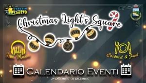 Bovalino (Rc): Christmas Light's Square 2.0. Pro Loco e Amministrazione Comunale per una comunità in festa!