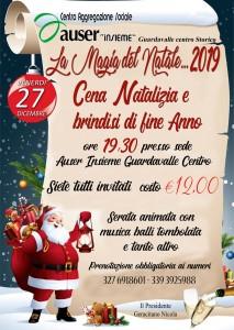 """Guardavalle (Cz). Auser Insieme: """"La Magia del Natale…2019"""" il 27 dicembre alle ore 19.30"""