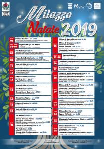 Milazzo (Me). Ufficializzato il calendario del Natale 2019