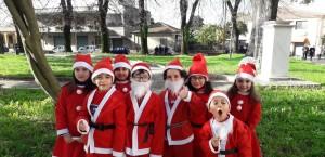 A Taurianova (Rc) la passeggiata di Babbo Natale per l'AIL