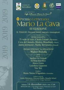 """Bovalino (Rc): c'è grande attesa per la serata finale del Premio Letterario Nazionale """"Mario La Cava"""""""