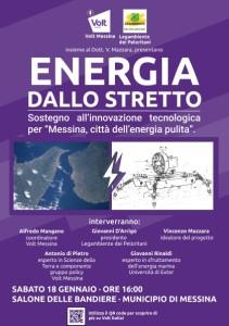 Messina. Energia pulita dallo Stretto: la proposta di Volt in un convegno