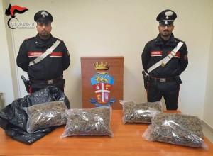 Bovalino (Rc). Trasporta oltre 2 kg di droga. Arrestato dai carabinieri.
