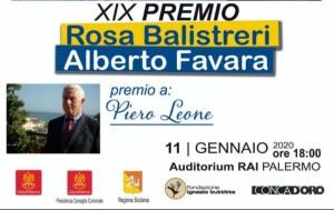 """Bovalino (Rc). Al bovalinese d'adozione, Piero Leone, il Premio alla memoria """"Rosa Balistreri-Alberto Favara"""""""