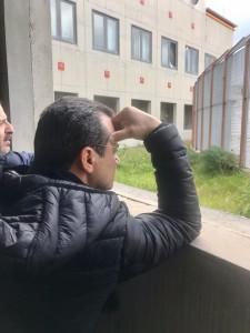 """Messina. FOTO. Foresteria dello stadio Scoglio San Filippo. Sindaco de Luca: """"Vergogna!!!"""""""