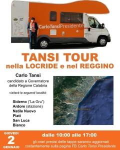 Locri (Rc). Carlo Tansi domani 2 gennaio incontrerà i cittadini della Locride e del reggino