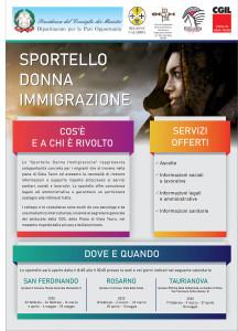 """Gioia Tauro (Rc). Continua l'attività dello """"Sportello Donna Immigrazione"""""""