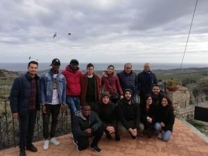 """Organizzato a Badolato (Cz), dai volontari di """"Badolato Landart"""", un raduno provinciale dei progetti del S.C.N.V. dell'Unpli della provincia di Catanzaro."""