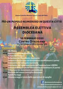 Messina. XVII Assemblea Diocesana: l'Azione Cattolica stila il nuovo documento assembleare