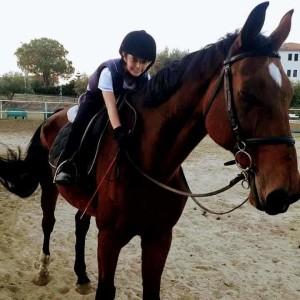 Crosia (Cs). Nicolò Milieni, 9 anni e una gran passione per i cavalli. Ha già ottenuto ottimi risultati in vari concorsi.