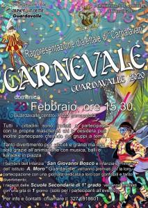 """Guardavalle (Cz). Tutto pronto per la """"Rappresentazione dialettale di Carnevale"""" del 23 febbraio."""