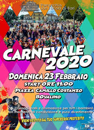 """Bovalino (Rc): al via la 3^ edizione del """"Carnevale bovalinese"""""""