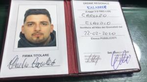 tessera-ordine-giornalisti-claudio-caroleo-cz-20-febbraio-2020