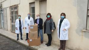 Donazione e consegna dispositivi di protezione individuale all'Ospedale Soverato (Cz)