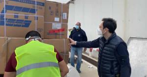 Sicilia. Coronavirus: arrivate altre 56 tonnellate di materiale.