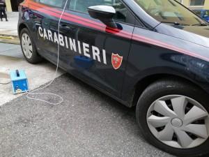 Emergenza Coronavirus: la TCT Group di Lamezia Terme (Cz) ha sanificato gratuitamente le vetture dei Carabinieri