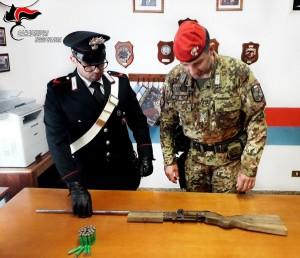 Platì (Rc): detenzione illegale di armi, arrestato dai carabinieri un 64enne. Ritrovati e sequestrati 30.000 euro.