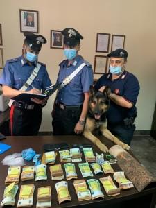 Palermo. Il cane Ulisse trova crack: i Carabinieri arrestano un 23enne e sequestrano quasi 50.000,00 Euro