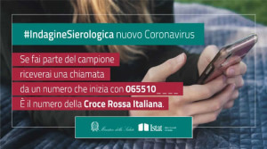 Al via da lunedì 25 l'indagine di sieroprevalenza