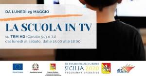 Sicilia. Istruzione e Teledidattica, da lunedì lezioni in tv per gli studenti.