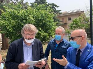 Il Commissario ad Acta Asp di Cosenza Zuccatelli in visita all'ospedale G. Chidichimo di Trebisacce