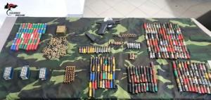 Ciminà (Rc). Rinvenuto un bunker, armi e munizioni.