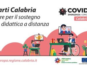 Calabria Regione. Didattica a distanza, 5,3 milioni di Euro per l'acquisto di attrezzature informatiche.