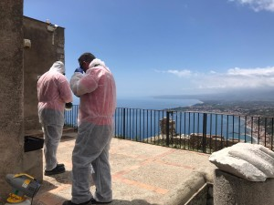 Taormina (Me). Beni culturali/Sicilia e Fase 2: ripartono i cantieri al Parco Naxos Taormina