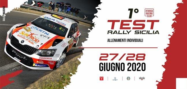 Sicilia. Test Rally il 27 e 28 giugno