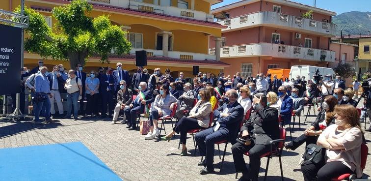 San Luca (Rc): Strage di Capaci. Santelli ricorda Giovanni Falcone a San Luca al fianco delle Istituzioni
