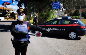 Reggio e provincia. Forza un posto di controllo e fugge. 30enne inseguito ed arrestato.