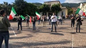 Anche a Lamezia Terme (Cz) la manifestazione delle Mascherine Tricolori