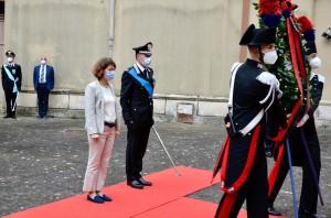 Catanzaro. 206 Annuale della Fondazione dellArma dei Carabinieri, cerimonia ristretta.