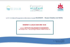 Soverato (Cz). All'interno dell'Istituto Salesiano il Mudimar, Museo Didattico del Mare.