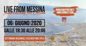 """Live from Messina for AISM"" dalla Sicilia l'evento musicale che unisce l'Italia, 6 giugno ore 18.30"