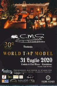 World Top Model, finale regionale al Castello di San Marco a Calatabiano (Ct) il 31 luglio 2020.
