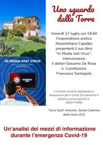 Santa Caterina dello Ionio (Cz): al via una nuova stagione di incontri tematici a Torre Sant'Antonio.
