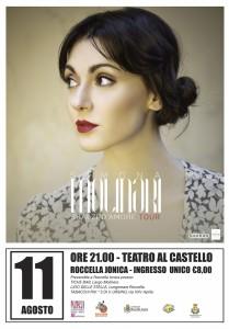 Roccella Jonica (Rc). Martedì 11 agosto anteprima del Roccella Jazz Festival con Simona Molinari