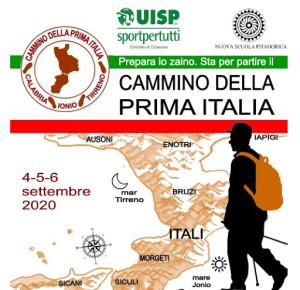Lettere a Tito n. 295. Istmo di Catanzaro vedrà il cammino della Prima Italia 4-5-6 settembre 2020