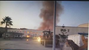 Siderno (Rc): incendio nell'impianto di San Leo. Problemi per il conferimento dei rifiuti