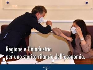 Calabria prima regione che firma protocollo con un'industria in tempo di Covid