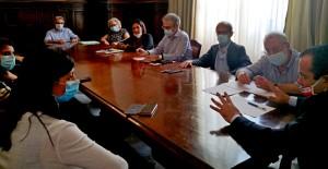 """Tavolo di confronto a Palazzo dei Leoni sulla situazione aule del Liceo Scientifico """"Galileo Galilei"""" di Spadafora (Me)"""
