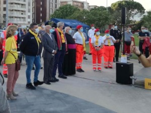 """""""Io non rischio"""", evento della Protezione Civile a Soverato (Cz)."""
