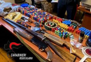 Siderno (Rc). Un arresto per detenzione illegale di armi, munizioni e spaccio.