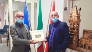 Messina. L'Assessore Caruso ricevuto dal Dirigente del Servizio Turistico Regionale Trovato