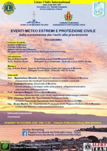 """Messina: """"Settimana Nazionale della Protezione Civile"""""""