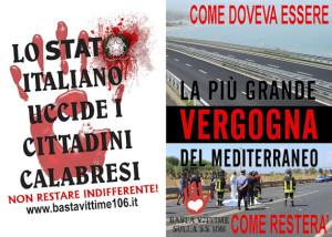 Calabria. Vittime sulla S.S.106: condividiamo l'appello dei sindaci al Prefetto